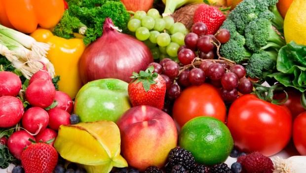 Zöldségek és gyümölcsök szezonja