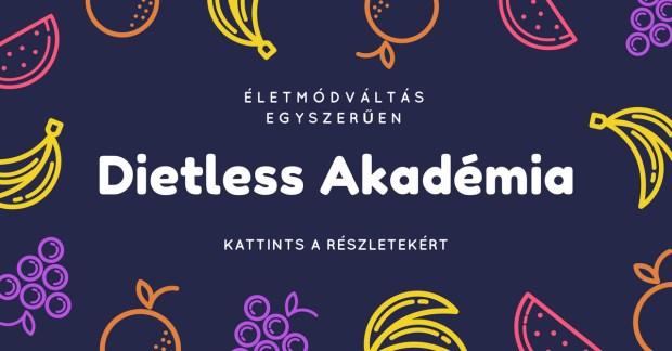 Dietless Akadémia: online tanfolyamok egyszerűen