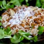 Eper-avokádó saláta • Dietless