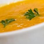 Répás kókusztejes leves curryvel és gyömbérrel