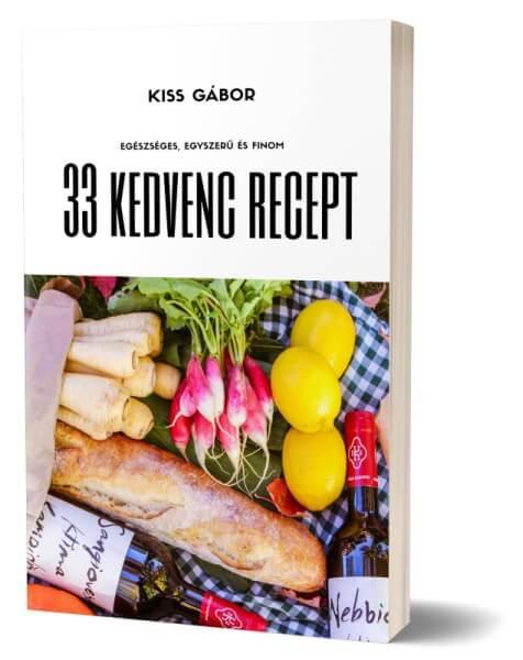 Egészséges receptek könyv